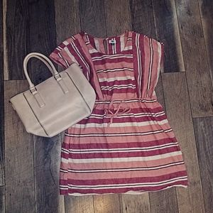 Old Navy XXL above the knee striped dress